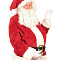 Santa Waving by Amanda Elwell