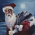Santa With His Pack by Darice Machel McGuire