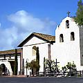 Santa Ynez Mission Solvang California by Kurt Van Wagner