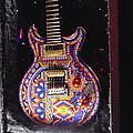 Santana Guitar by Dotti Hannum