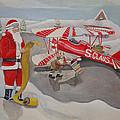 Santa's Airport by Rick Huotari