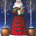 Santa's Cat by Lynn Bywaters