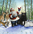 Santa's Christmas Morning by Lynn Bywaters