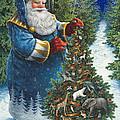 Santa's Christmas Tree by Lynn Bywaters