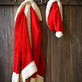 Santa's Coat by Amanda Elwell