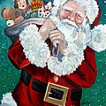 Santa's Coming To Town by Julie Brugh Riffey