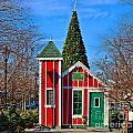 Santas Workshop by Jack Schultz