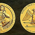 Santee Sioux Tribe Code Talkers Bronze Medal Art by Movie Poster Prints