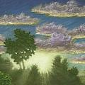Santee Sunset 01 by Michael Heikkinen