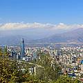Santiago  Chile by Kurt Van Wagner
