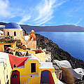 Santorini 08 by Manolis Tsantakis