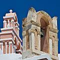 Santorini Bell Towers by Jack Daulton