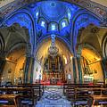 Santorini Cathedral  by Yhun Suarez