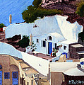 Santorini Cave Homes by Mike Robles