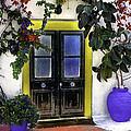 Santorini Doorway 2 by Madeline Ellis