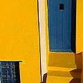 Santorini Doorway by Suzanne Oesterling