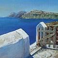 Santorini Island by Olga