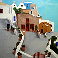 Santorini by John Davis