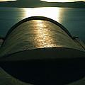 Santorini Lines By Night  by Colette V Hera  Guggenheim