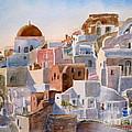 Santorini by Mohamed Hirji