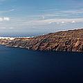 Santorini Panorama by Gary Eason