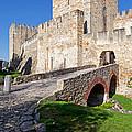 Sao Jorge Castle In Lisbon by Jose Elias - Sofia Pereira