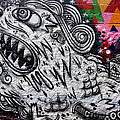 Sao Paulo Graffiti Vii by Julie Niemela