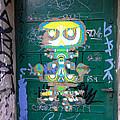 Sao Paulo Green Door II by Julie Niemela