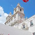 Sao Vicente De Fora Church In Lisbon by Luis Alvarenga