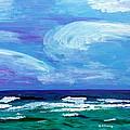 Sapphire Sea Sri by Brenda Stevens Fanning