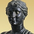 Sappho 612-545 Bc. Greek Art. Sculpture by Everett
