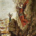 Sappho In Lefkada by Gustave Moreau