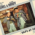 Saps At Sea, Us Lobbycard, From Left by Everett