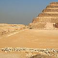 Saqqara Step Pyramid by Laurel Talabere