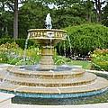 Sarah Lee Baker Perennial Garden 7 by Jeelan Clark