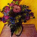 Sarah's Sweet 16 Flowers by Jose A Gonzalez Jr