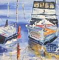 Sarasota Florida Marina by PainterArtist FIN