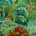 Sarasota Garden by Beverly Theriault