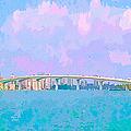 Sarasota Via Ringling Bridge by Susan Molnar