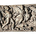Sarcophagus With Hunting Scene, 3rd C by Everett