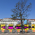 Sardine Outdoor At Pedro Iv Square Best Known As Rossio Square by Andre Goncalves