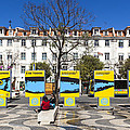 Sardine Outdoors At Rossio Square by Andre Goncalves