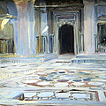 Sargent's Pavement In Cairo by Cora Wandel
