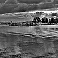 Sarnia Harbour B And W - Canada by Jeremy Hall