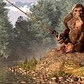 Sasquatch Goes Fishing