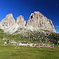 Sassolungo From Sella Pass by Antonio Scarpi