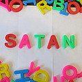 Satan - Magnetic Letters by David Lovins