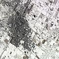Satellite View Of Amarillo, Texas by Stocktrek Images
