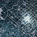 Satellite View Of Fields In Sonora by Panoramic Images