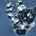 Satellite View Of Montserrat Island by Panoramic Images